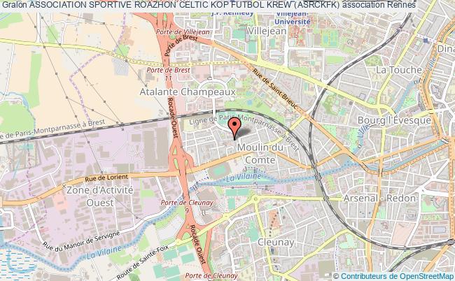 plan association Association Sportive Roazhon Celtic Kop Futbol Krew (asrckfk)