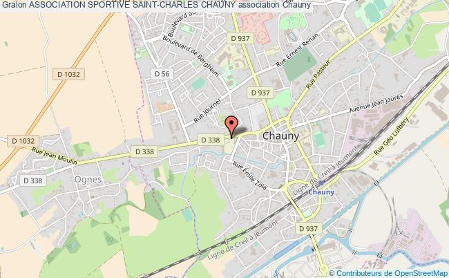 plan association Association Sportive Saint-charles Chauny