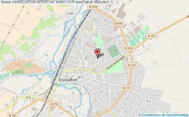 plan association Association Sportive Saint-cyr Issoudun