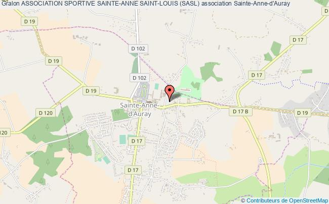 plan association Association Sportive Sainte-anne Saint-louis (sasl) Sainte-Anne-d'Auray