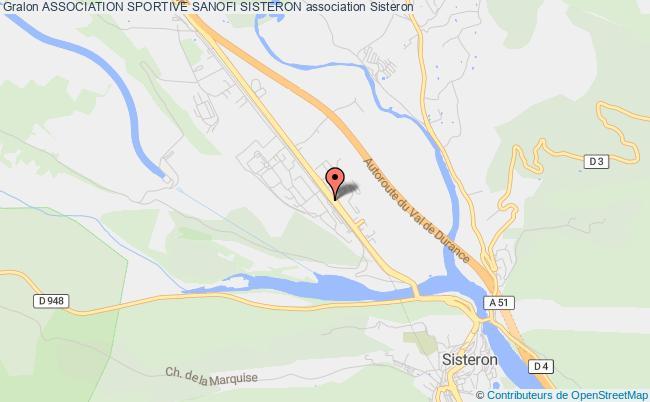 plan association Association Sportive Sanofi Sisteron