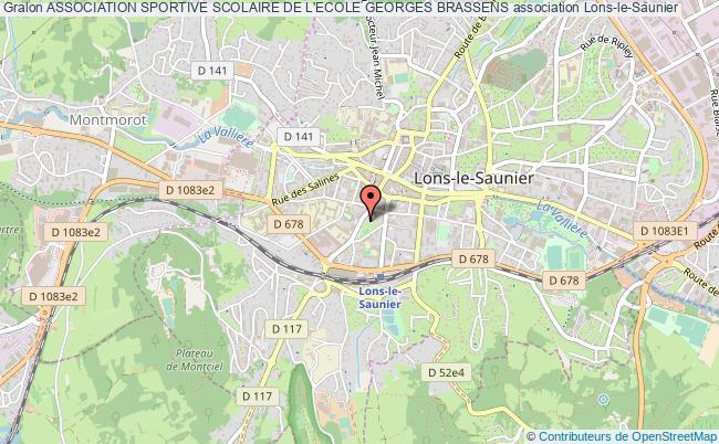 plan association Association Sportive Scolaire De L'ecole Georges Brassens