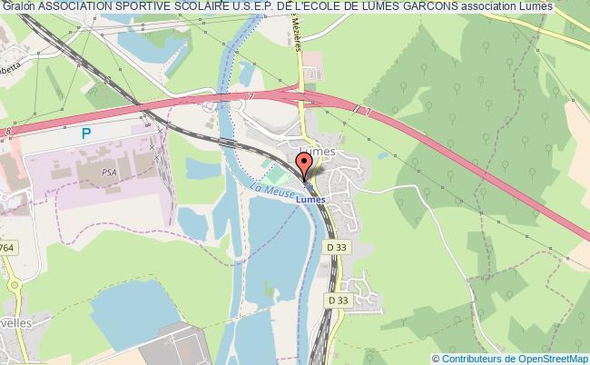 plan association Association Sportive Scolaire U.s.e.p. De L'ecole De Lumes Garcons