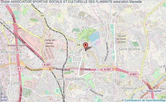 plan association Association Sportive Sociale Et Culturelle Des Flamants