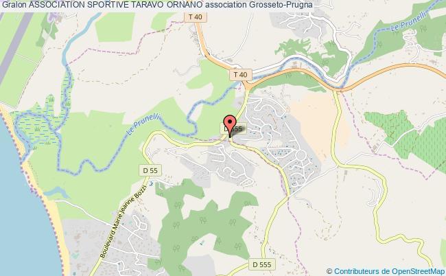 plan association Association Sportive Taravo Ornano