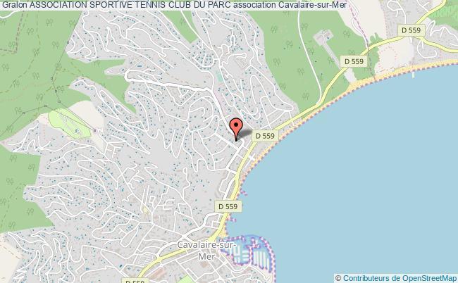 plan association Association Sportive Tennis Club Du Parc