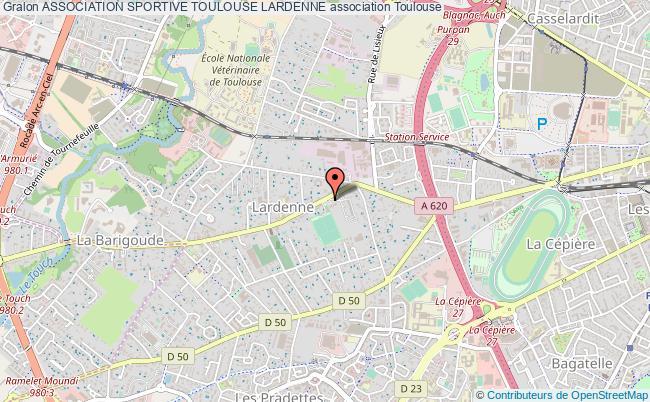 plan association Association Sportive Toulouse Lardenne