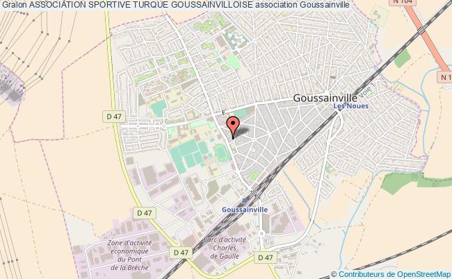 plan association Association Sportive Turque Goussainvilloise Goussainville