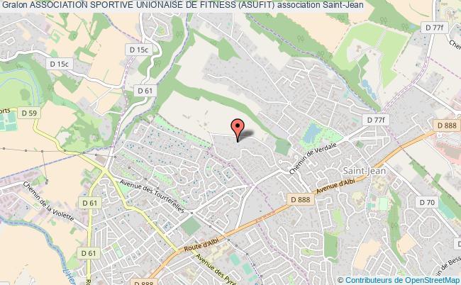 plan association Association Sportive Unionaise De Fitness (asufit)