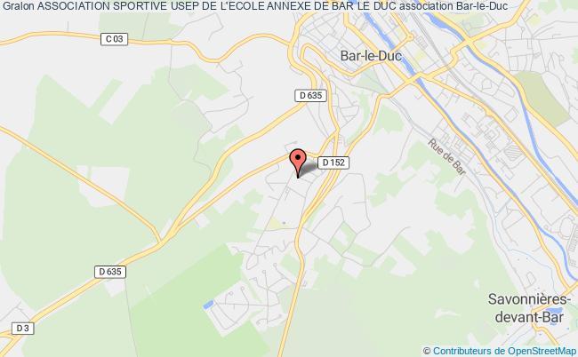 plan association Association Sportive Usep De L'ecole Annexe De Bar Le Duc
