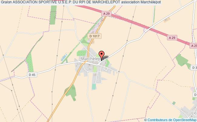 plan association Association Sportive U.s.e.p. Du Rpi De Marchelepot