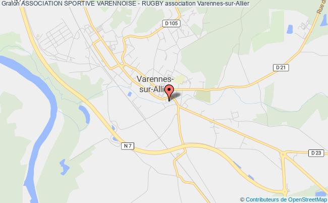 plan association Association Sportive Varennoise