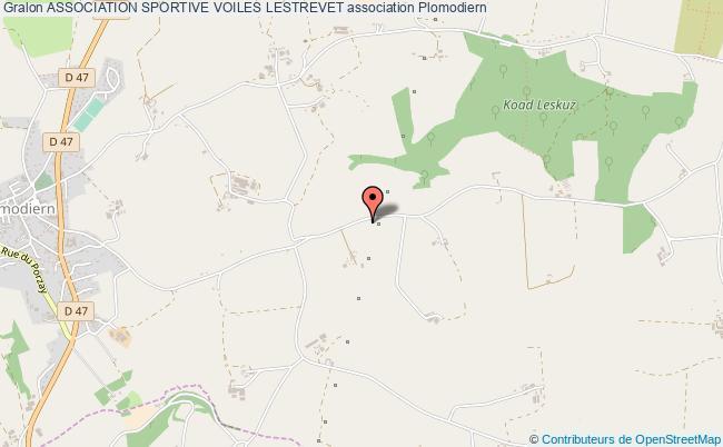 plan association Association Sportive Voiles Lestrevet