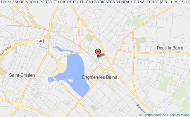 plan association Association Sports Et Loisirs Pour Les Handicapes Mentaux Du Val D'oise (a.s.l.h.m. 95)