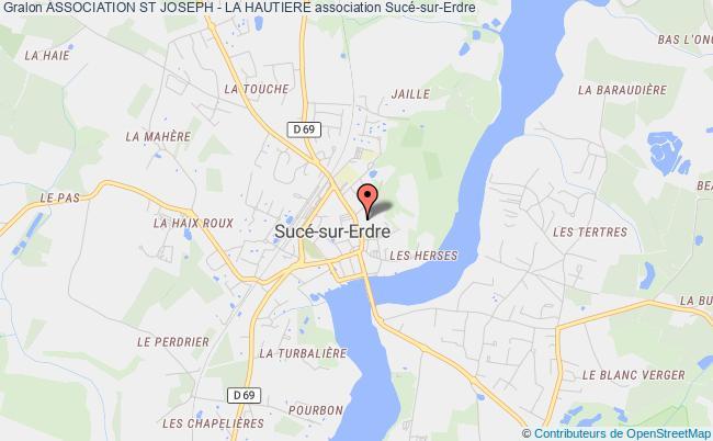 plan association Association St Joseph - La Hautiere