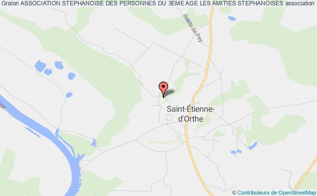 plan association Association Stephanoise Des Personnes Du 3eme Age Les Amities Stephanoises