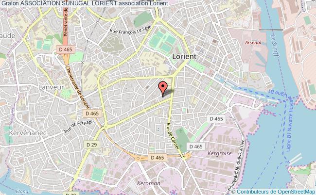 plan association Association Sunugal Lorient
