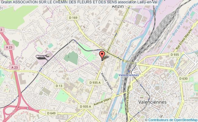 plan association Association Sur Le Chemin Des Fleurs Et Des Sens Lailly-en-Val