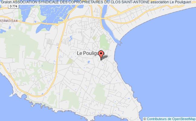 plan association Association Syndicale Des Coproprietaires Du Clos Saint-antoine