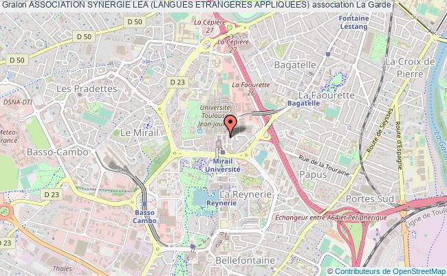plan association Association Synergie Lea (langues Etrangeres Appliquees) La    Garde