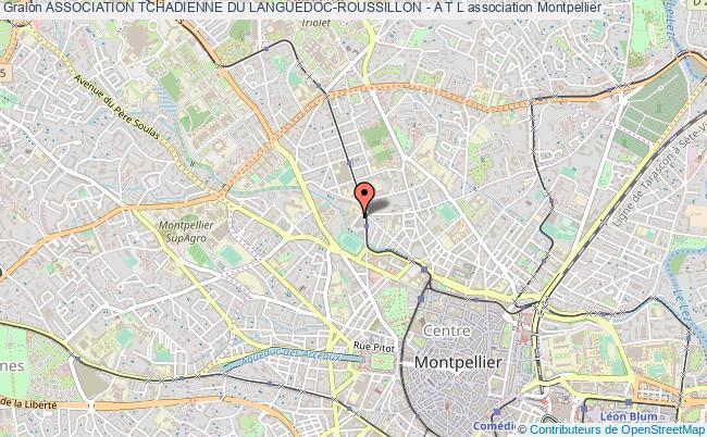 plan association Association Tchadienne Du Languedoc-roussillon - A T L