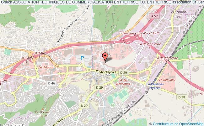 plan association Association Techniques De Commercialisation Entreprise T.c. Entreprise
