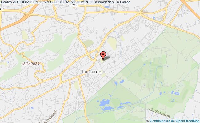 plan association Association Tennis Club Saint Charles