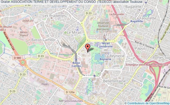 plan association Association Terre Et Developpement Du Congo (tedeco)