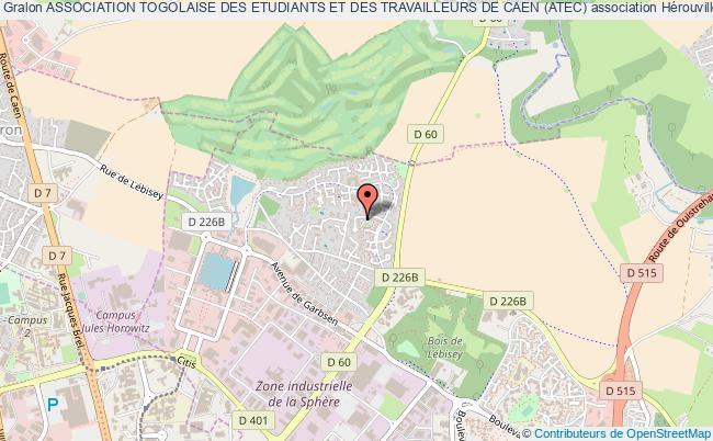 plan association Association Togolaise Des Etudiants Et Des Travailleurs De Caen (atec)