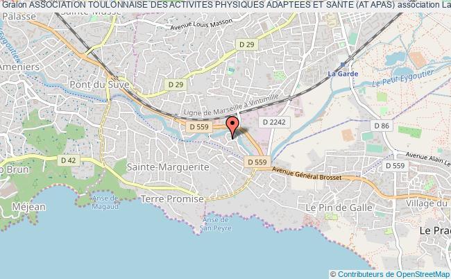plan association Association Toulonnaise Des Activites Physiques Adaptees Et Sante (at Apas)
