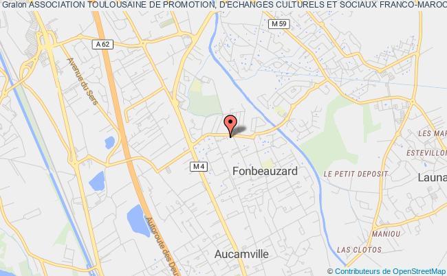 plan association Association Toulousaine De Promotion, D'echanges Culturels Et Sociaux Franco-marocaine (atl'as)