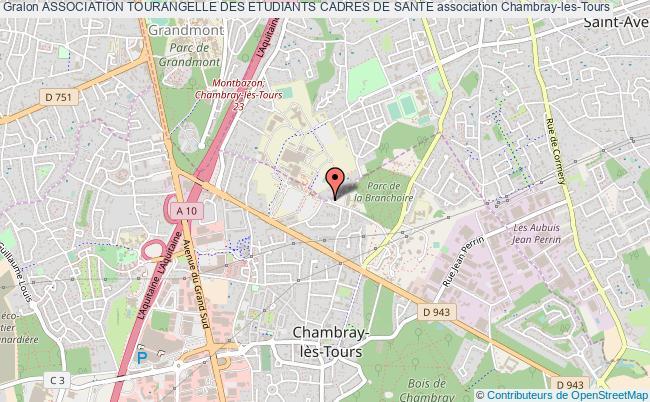 plan association Association Tourangelle Des Etudiants Cadres De Sante