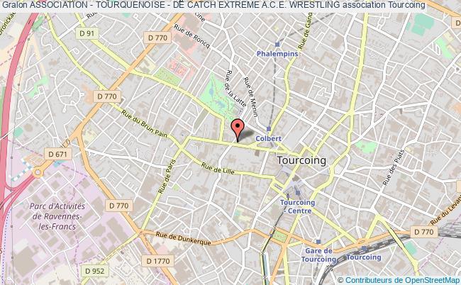plan association Association - Tourquenoise - De Catch Extreme A.c.e. Wrestling