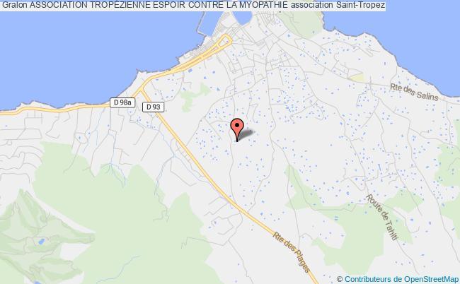 plan association Association Tropezienne Espoir Contre La Myopathie