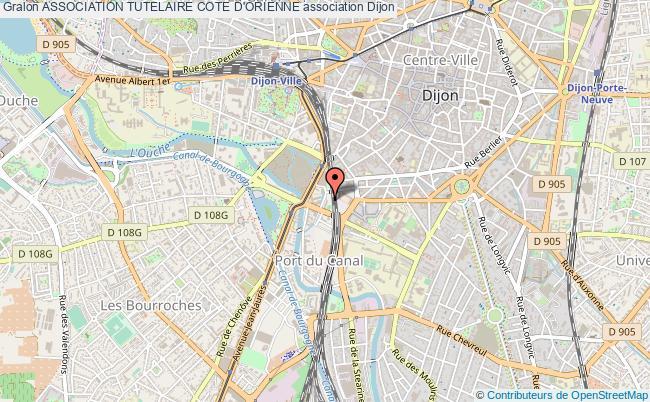 plan association Association Tutelaire Cote D'orienne