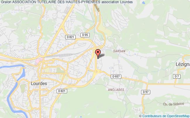 plan association Association Tutelaire Des Hautes-pyrenees
