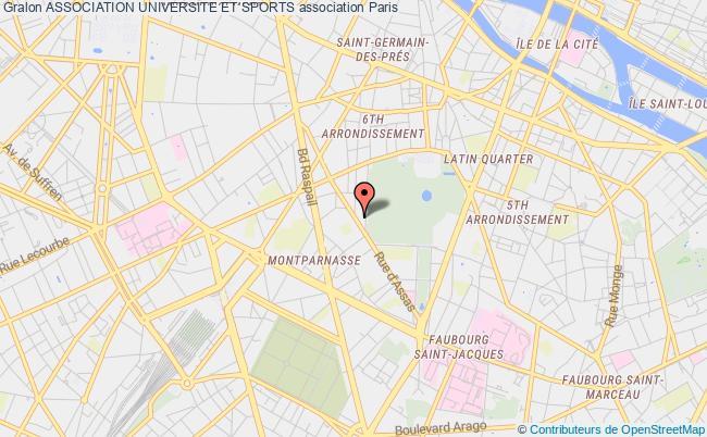 plan association Association Universite Et Sports