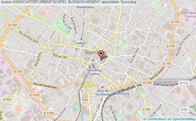 plan association Association Urban Gospel Buisson Ardent
