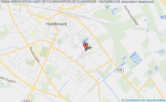 plan association Association Usep De Coordination De Dunkerque / Hazebrouck