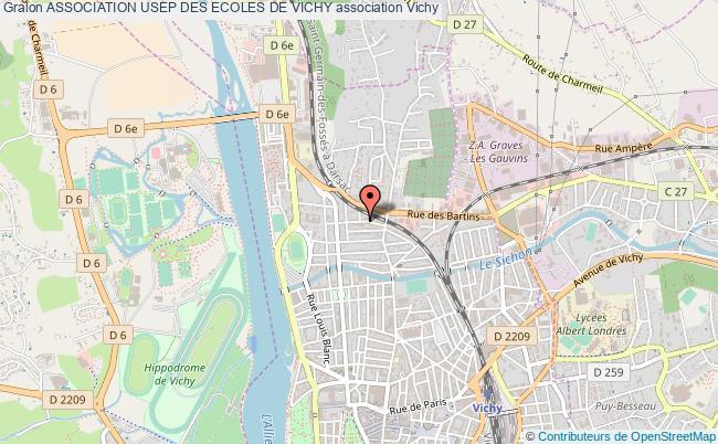 plan association Association Usep Des Ecoles De Vichy