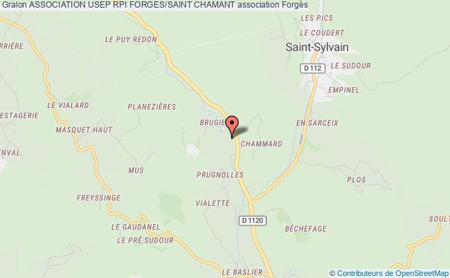 plan association Association Usep Rpi Forges/saint Chamant