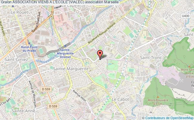 plan association Association Viens A L'ecole (vialec) Marseille
