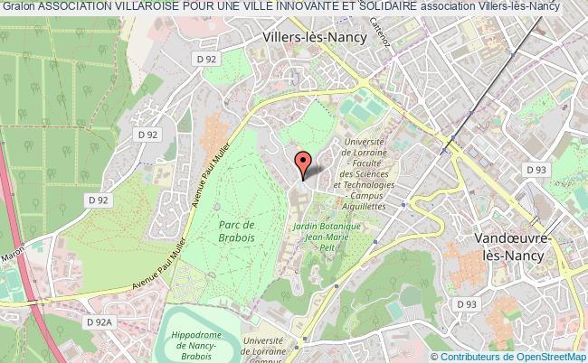 plan association Association Villaroise Pour Une Ville Innovante Et Solidaire