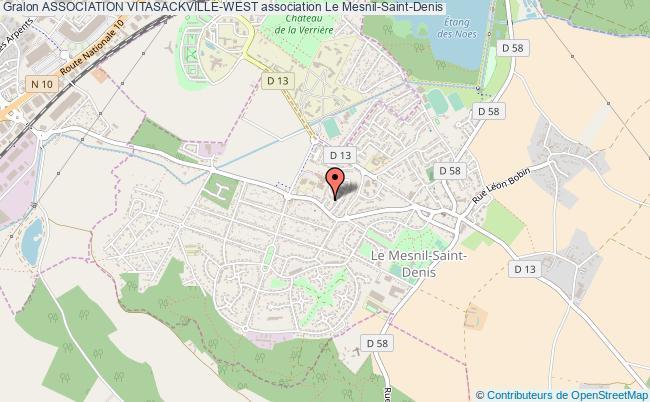 plan association Association Vitasackville-west Le    Mesnil-Saint-Denis