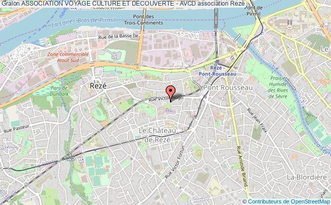 plan association Association Voyage Culture Et Decouverte - Avcd