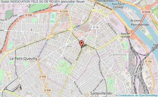 plan association Association YÈlÈ So De Rouen Rouen
