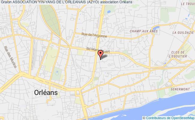 plan association Association Yin-yang De L'orleanais (a2yo)