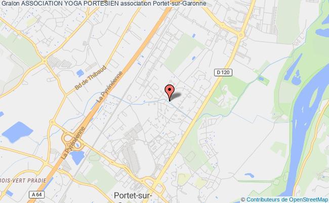 plan association Association Yoga Portesien
