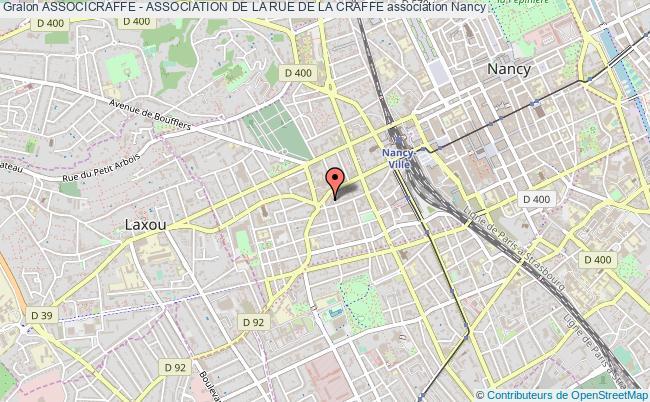 plan association Associcraffe - Association De La Rue De La Craffe