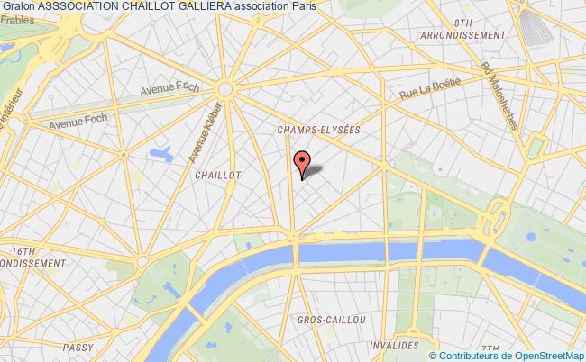 plan association Asssociation Chaillot Galliera